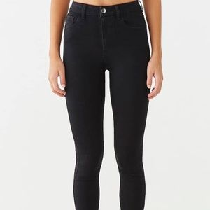 NWT Black high waisted/rise skinny jeans